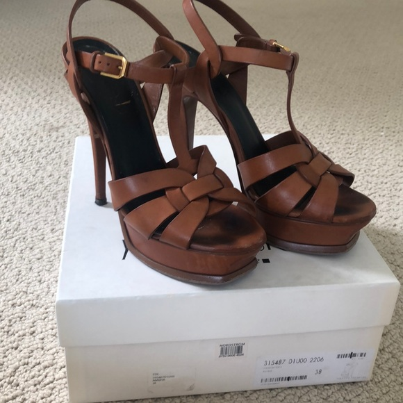 c5fcd2fb YSL Tribute Sandal in Original Box